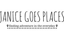Janice Goes Places / Hiking, camping, outdoor exploration, health and wellness, cooking.