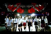 E-girls / lately, i found this group by accidents when watching youtube and discovered a title jpop vs kpop... i thought that they were idol group like the others, but they dont.  i love their songs, their dances, their expression while dancing  and until i found that there are about 20 members which divided by 3 sub unit; dream (4 members), flower (7 members), & happiness (7 members), and trainees, each group have their vocalist.   my fav group is Flower... oh i love their songs, MV... it was beauutifuuulllll