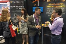 Trustpilot Events / Trustpilot having a good time hosting and attending various events
