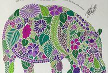 Millie Marotta Animal Kingdom Tropical Wonderland