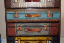 suitcase dresser / by Brenda Hackney