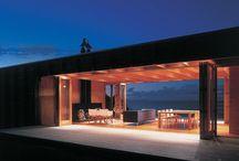Pavillion style house