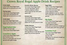 crown royal apple drinks