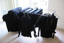 vêtements noirs