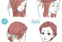 penteados faceis