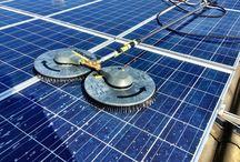 Čiščenje sončnih elektrarn (Solar Panel Cleaning)
