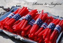 July 4th / Red white and blue outfits, July 4th food ideas, July 4th party ideas
