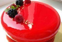lesklá torta