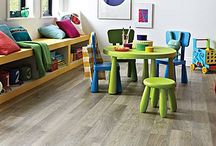 Karndean Vinyl Flooring / Karndean Vinyl flooring is the perfect choice if you want to blend the look of real wood or stone with practicality and durability.  Here's a collection of some of the options available from UK Tiles Direct.  #vinyl #flooring #karndean