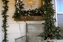 Old fashioned rustic Christmas / Old fashioned, country, natural and rustic Christmas decorations DIY and inspiration