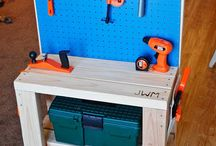 Wooden Toolbench