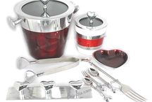 Heart Collection / Our Heart Collection includes Ice bucket,jar,fork,sugar spoon,tea spoon,ice tongs,cheese knife,butter knife,cheese cutter,cake lifter & Many More items