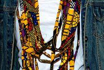 African Necklace, Bracelets & Bags