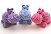 Nijlpaardjes / Gehaakt