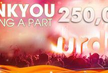 250,000+ Fans Celebration