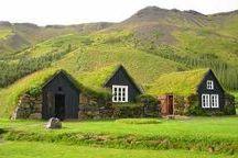 φυτεμένη στέγη σε κατοικία από ξυλο