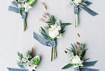 Dusky Blue Wedding