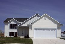 Garage Doors and House Plan / House planning...coastal, colonial, unique, traditional, timeless...