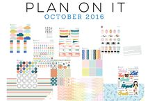 October 2016 Scraptastic Club Plan On It kit