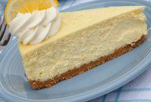 Cheesecake de limão / Cheesecake de limão