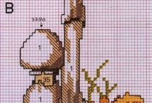 Counted Cross Stitch botanically accurate