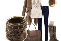 clothing and outfits / by Deana Aguirre-Righettini