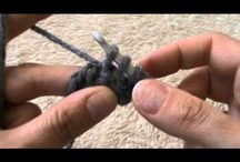 Crafts: Tun. Crochet Tutorials / Uncinetto tunisino / Tunisian crochet tutorials on YouTube or web sites