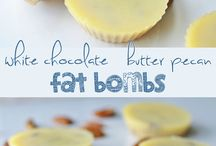cooking: ketogenic snacks + fat bombs
