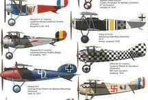 Fighter Planes ww1
