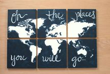 Travelling / Traveling inspired ideas
