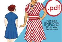 Making clothes & relevant sewing patterns