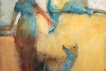 Cathy Hegman / Love this woman's work.  Texture, line, color, subject matter...for me, just wow...