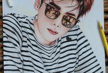 Lee Jong Suk ,Fan art