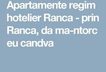 Apartamente regim hotelier Ranca
