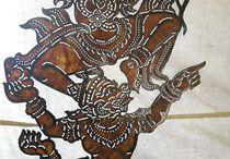 θέατρο σκιών Cambodia