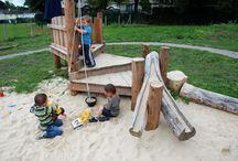 Kids outdoor area