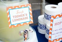 Auburn University Fan Decorating and Tailgate Ideas / If you're an Auburn fan, you will love these ideas on War Eagle decor, DIY, accessories and tailgate ideas!