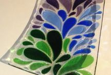 Glass - painted
