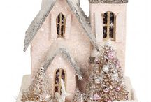 Glittered Houses / by Michele Szot