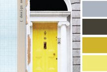 Color Inspiration / I sometimes get color inspiration from a simple photo, sometimes from interior decorators or magazines.