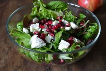 Christmas Recipe Inspiration / My family does too many combinations of pizza and cheese (and no fresh veggies!) I'm hunting for some healthy salads and veggie sides.  / by Colleen Brogan