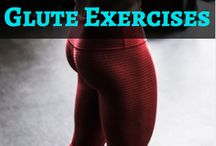 Glute Exercises / The best glute exercises and tips, including glute exercises for beginners, glute exercises for women, glute exercises for the gym, glute strengthening exercises, exercises for bigger glute muscles, glute exercises for home, glute exercises for the glute medius muscle, and glute exercises for runners.
