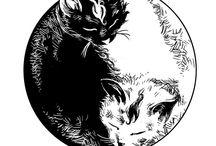 Šablony Kočky