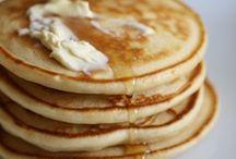 Pancakes, Waffles, Loukoumades