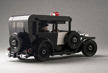 LEGO veteran cars