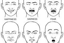 drawing facial expression