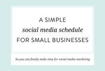 S O C I A L - M E D I A / Social media tips and strategies to engage with your growing community and attract more clients!