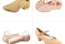 Roupas e acessórios de ballet