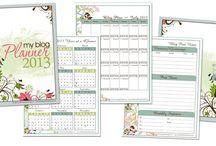 Calendars & Planners / by Annabelle Lanham