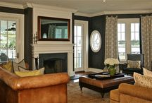 Shore Colonial Home / Family Room Design